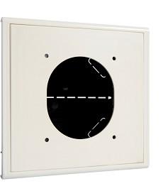 Adapter do montażu gniazd CEE17 do LFF60110, biały