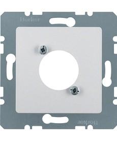 Płytka centralna do okrągłych łączy wtykowych XLR D-Serie alu B.7