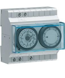 Zegar analogowy tygodniowy z rezerwą chodu 230V 1P 16A