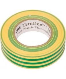 Taśma izolacyjna temflex 1300 19x20 żółto-zielona 3m de272962841