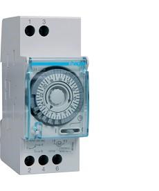 Zegar analogowy dobowy bez rezerwy chodu 230V 1P 16A