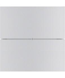 B.IQ Przycisk 2-krotny standard, aluminium