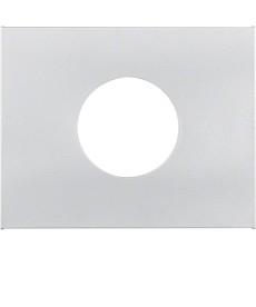 Płytka czołowa do łącznika i sygnalizatora świetlnego E10 Berker K.5 alu