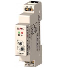 PRZEKAŻNIK CZASOWY 230V AC TYP PCM-03/U, ZAMEL