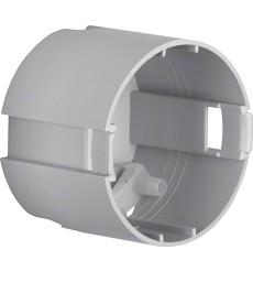 Puszka podtynkowa płytka O 49 mm; szary; Integro mechanizm