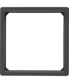 Pierścień adaptacyjny do płytki czołowej 50 x 50 mm Q.1/Q.3 antracyt, aksamit