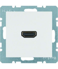 Gniazdo HDMI; biały, mat; S.1/B.3/B.7