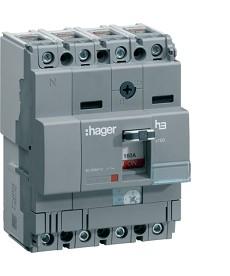 Wyłącznik mocy x160 4P 40kA 25A