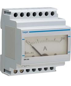 Amperomierz analogowy 0-250 A, pośredni