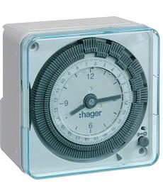 Zegar analogowy dobowy z rezerwą chodu 230V 1P 16A