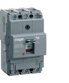 Wyłącznik mocy x160 3P 25kA 80A