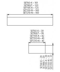 ZASILACZ ELEKTRONICZNY SET-105-K 110W/0,67A KANLUX 1426