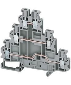 Zacisk śrubowy 3 poziomowy 6 punktowy 2,5mm2 SCHNEIDER NSYTRV26T