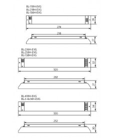 STATECZNIK ELEKTRONICZNY BL-158H-EVG KANLUX 70482