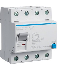 RCCB Wyłącznik różnicowoprądowy 4P 40A/300mA Typ B