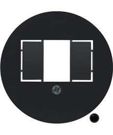 Płytka czołowa do gniazda przyłączeniowego TAE i gniazda głośnikowego stereofoni