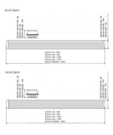 OPRAWA HERMETYCZNA DICHT 236/PS T8,IP65 KANLUX 30010