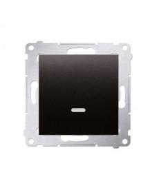 Łącznik jednb. Dw1l.01/48 moduł podś.simon54 premium antracyt kontakt