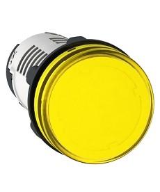 LAMPKA SYGNAL. 24V LED ŻÓŁTA SCHNIDER XB7EV05BP
