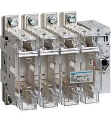 Rozłącznik izolacyjny z bezpiecznikami 4-polowy NH00 160 A