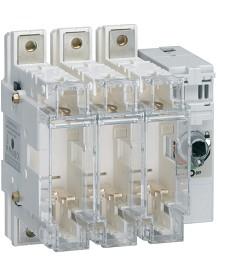 Rozłącznik izolacyjny z bezpiecznikami 3-polowy NH00 125 A