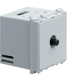 Ściemniacz obrotowy, trafo elektroniczne, 320W Systo 2 moduły biały 230V