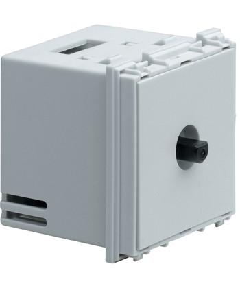Ściemniacz obrotowy, trafo elektroniczne, 320W; Systo; 2 moduły biały; 230V