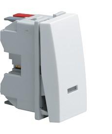 Łącznik klawiszowy przyciskowy zwierno/rozwierny z opcją podświetlenia Systo 1