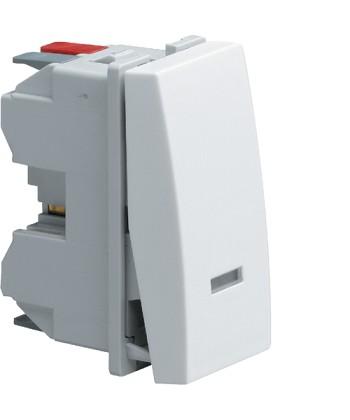 Łącznik klawiszowy przyciskowy zwierno/rozwierny z opcją podświetlenia; Systo; 1