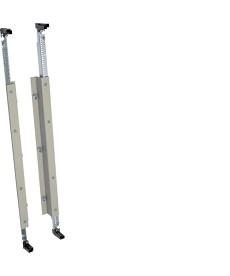 universN Wspornik szyn zbiorczych 3-polowy 185mm wysokość 750mm lewy i prawy