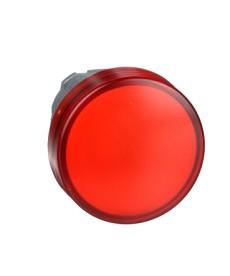 Lampka sygnalizacyjna czerwona LED metalowa typowa SCHNEIDER ZB4BV043