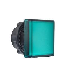 Lampka sygnalizacyjna Ø22 zielona LED kwadratowa plastikowa SCHNEIDER ZB5CV033