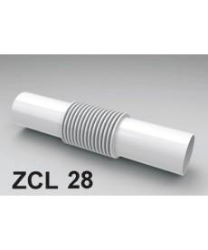 ZŁĄCZKA DO RURY PCV ZCL-28 BIAŁA