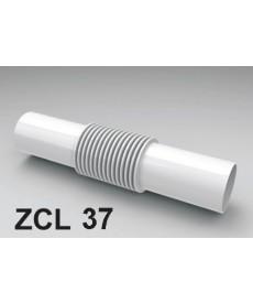 ZŁĄCZKA DO RURY PCV ZCL-37 BIAŁA