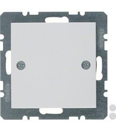 Zaślepka z elementem centralnym, przykręcanym; biały, połysk; S.1/B.3/B.7