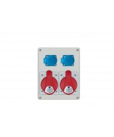 R-BOX 240, 2x32A/5p, 2x250V