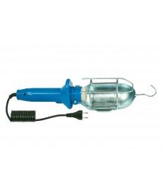 Lampa PL - 2, kabel 5m gumow ,(niebieska) oprawka E27 ceramiczna