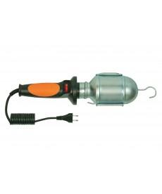 Lampa PL - 2 , kabel 5m gumow ,(pomarańczowa) oprawka E27 ceramiczna