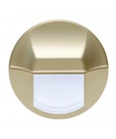 LED EPSILON (duże koło), złoty, biały ciepły, puszka