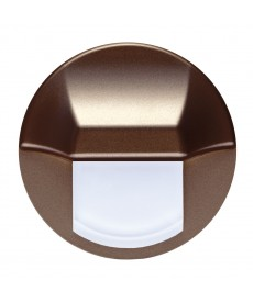 LED EPSILON (duże koło), brązowy metalik, czerwony, puszka