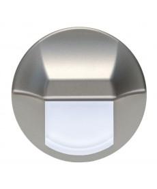 LED EPSILON (duże koło), srebrny, zielony, puszka