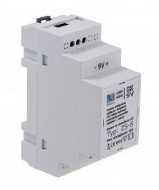 zasilacz LED, t p ZS-6, 9V, 6W (na sz nę TH)
