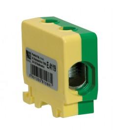 Listwa zaciskowa w korpusie 1x50mm2 zółto - zielona
