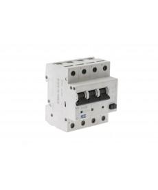 4 biegunowy (3 fazowy) wyłącznik ochronny różnicowo-prądowy; 25 amper / 0,03 amp