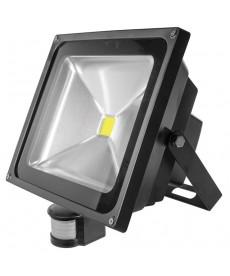 naświetlacz Powe LED moc50W,długość kabla30cm,strumień świetln 3500 lm z czujn
