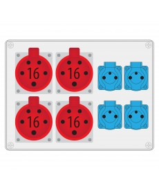 rozdz. R-BOX 300/ 4x16A/5p, 4x230V