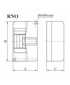 ROZDZIELNIA NATYNKOWA RNO 2 ELEKTRO-PLAST OPAT 5.1