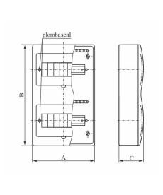 ROZDZ.N/T RN X8 (N+PE) FALA ELEKTRO-PLAST OPAT 7.2
