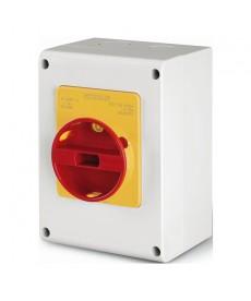 Wyłącznik 3P+N 40A IP65 emergency SCAME 590.EM4015
