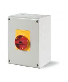 Wyłącznik 4P 63A IP65 emergency SCAME 590.EM6305